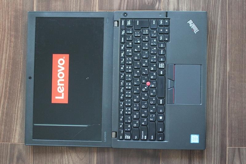 ThinkPad X260 左側の4分の1が映らなくなった液晶