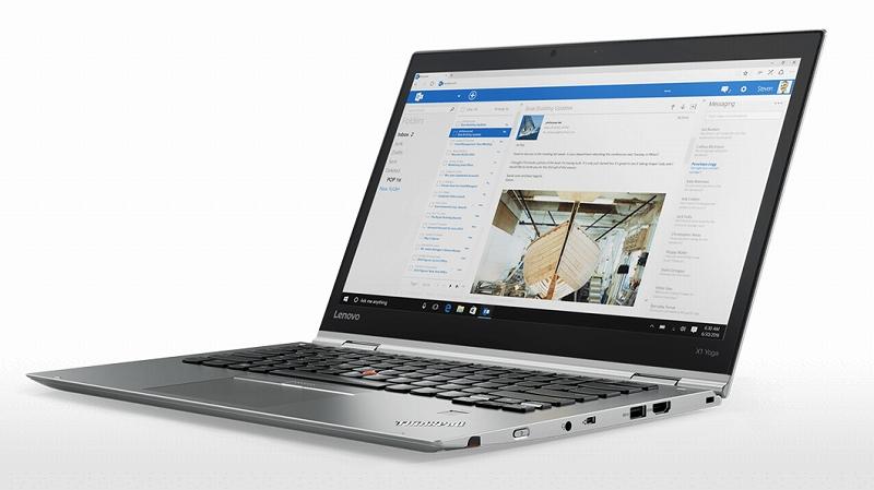 ThinkPad X1 Yoga シルバーモデル