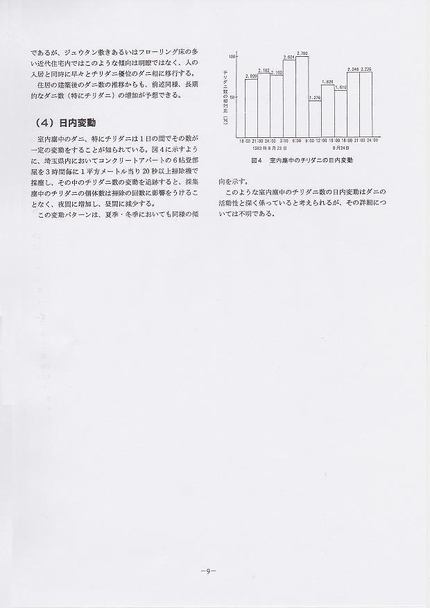 5.住居内ダニ類の発生消長2:高岡正敏
