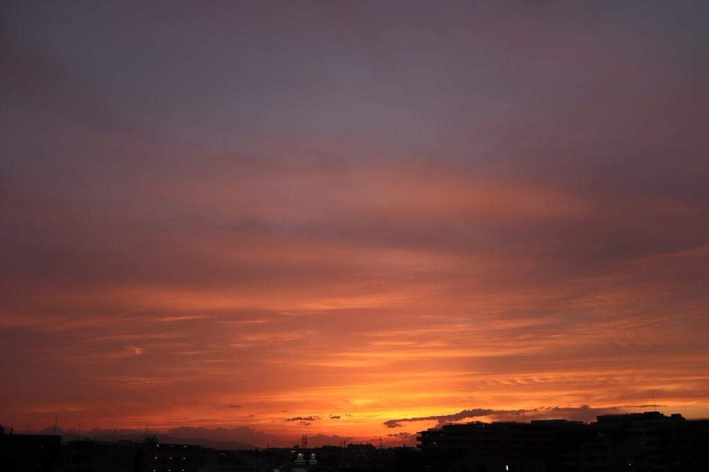 夕日・横浜観光案内と写真・ブログ