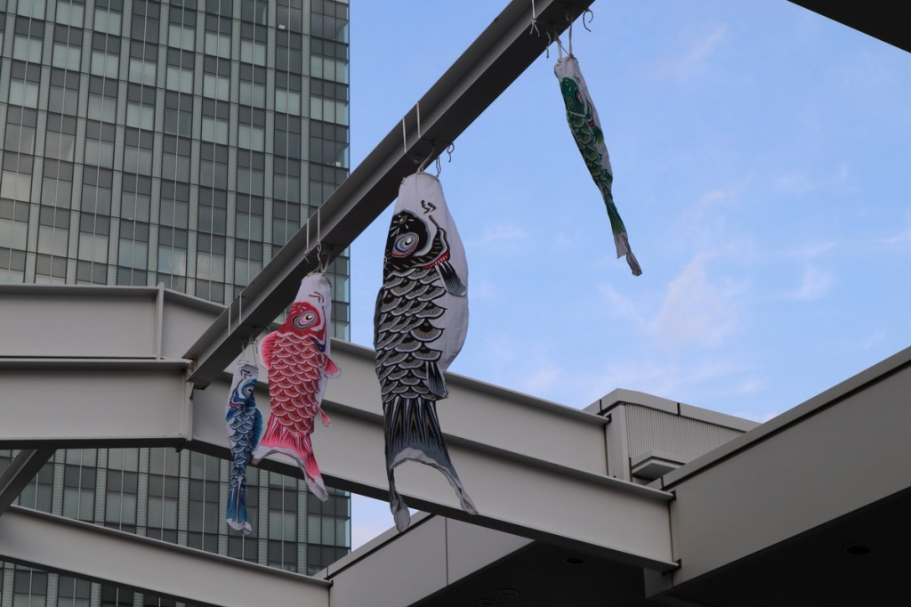 鯉のぼり3-横浜観光案内と写真・ブログ
