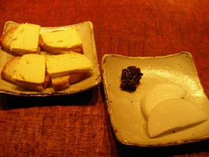 チーズと大根