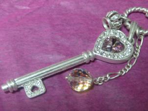 鍵とか王冠とかワタシの好きなもの満載