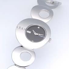 美しいブレスレットのような腕時計。 「O」