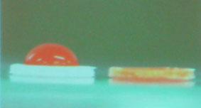 ナノ粒子の浸透力を比較