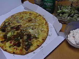デリバリーピザ好き。