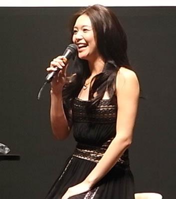 知花さんの笑顔がステキ☆