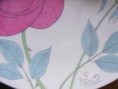 薔薇のお皿2