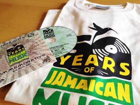 JAMAICA 50THTシャツ