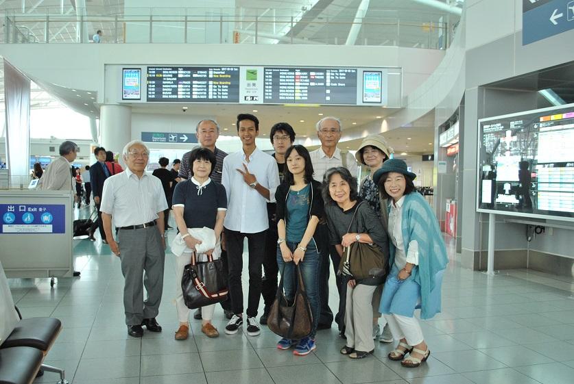 福岡空港国際線出発前