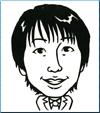 安藤さんの似顔絵