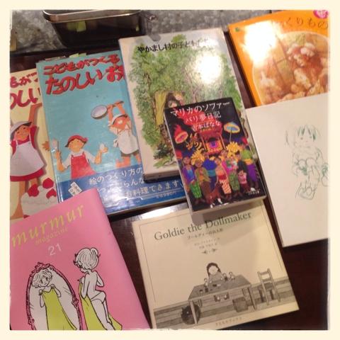 編み物クラブにて「本の会」の巻