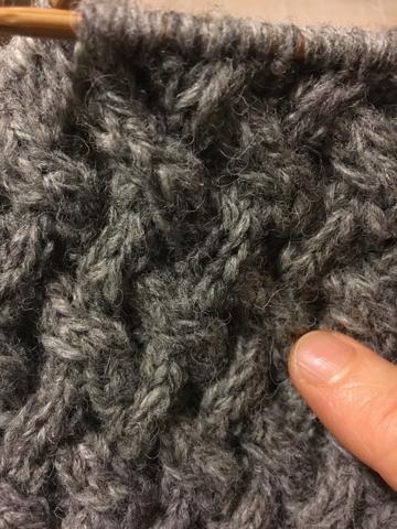 編み物ディズ