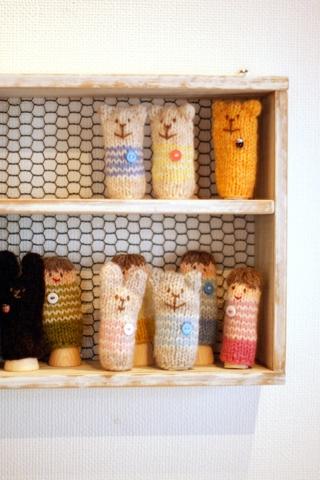編み物クラブより