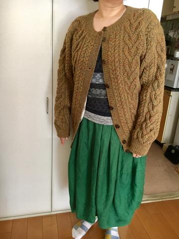 編み物クラブにて