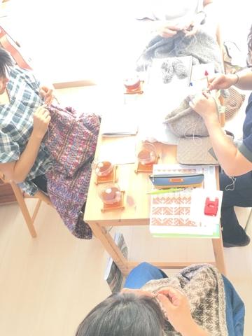 チーム土曜日、編み物クラブ
