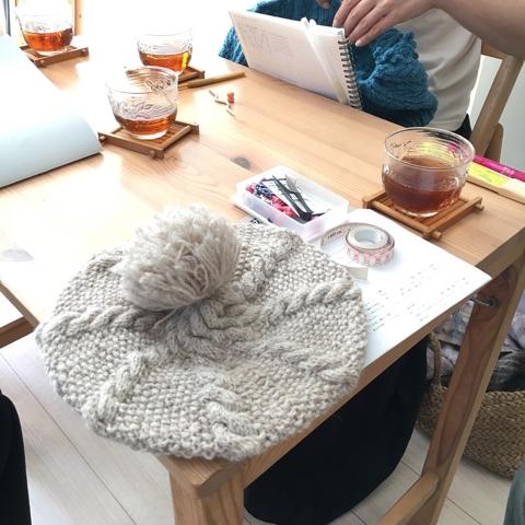 水曜編み物クラブより