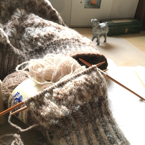 Now on knit
