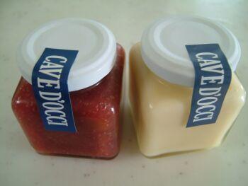 ルバーブとミルクのジャム