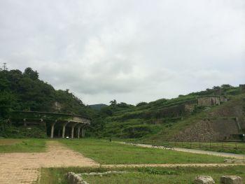 北澤浮遊選鉱場跡
