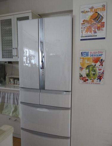 新しい冷蔵庫食器棚の収納 La La Happydiary 2