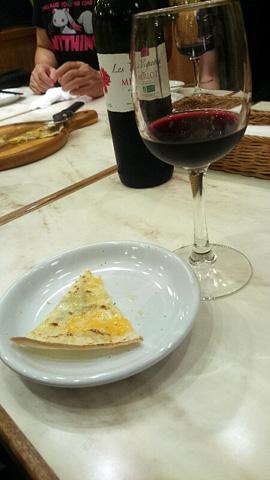 ピザ&ワイン