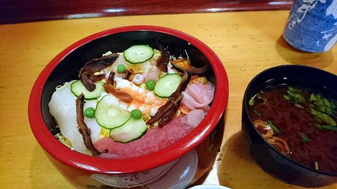 海鮮ちらし寿司セット