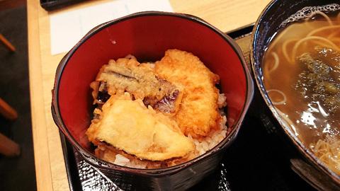 ミニ野菜天丼