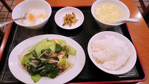 青梗菜牛肉炒め