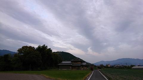 雲行きが怪しい