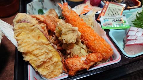 天ぷらフライ