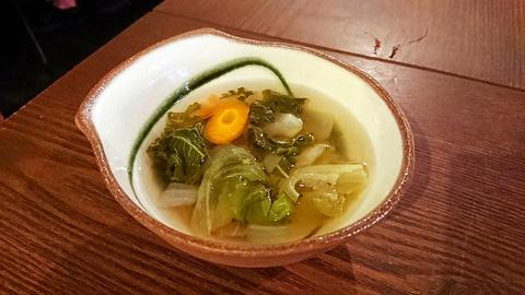 冷製野菜スープ