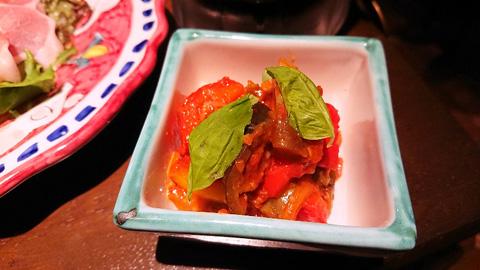 夏野菜のナポリ風トマト煮