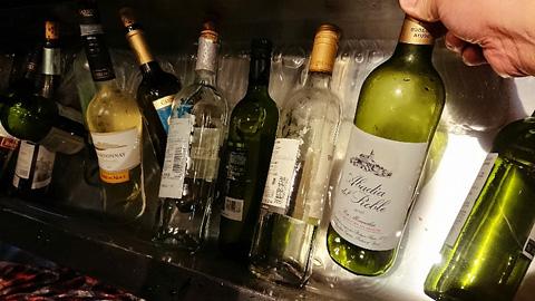 冷えたワイン