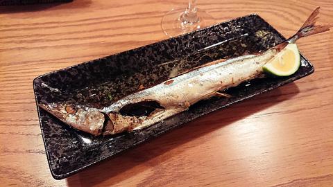 秋刀魚のまるごとコンフィ