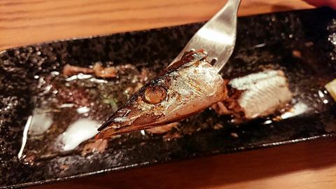 秋刀魚の頭