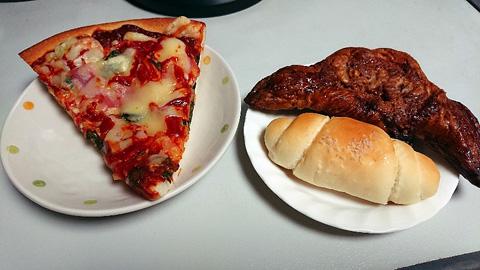 パンとピザ