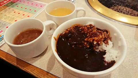 カレーとスープ