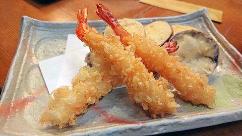 天ぷら三種