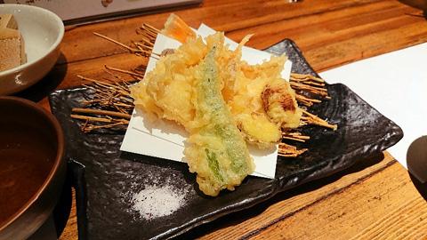 のどぐろの天ぷら