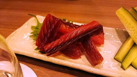 北海道余市産 鮭とばの炙り