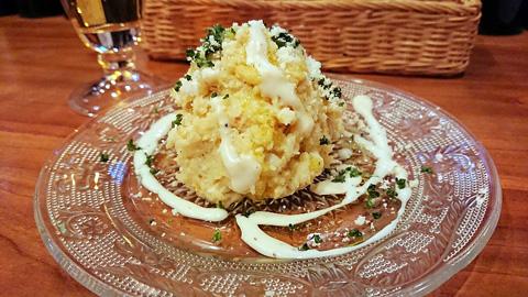 アンチョビ卵のポテトサラダ