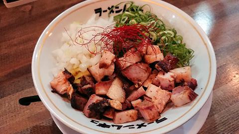 名古屋コーチン鶏油まぜそば