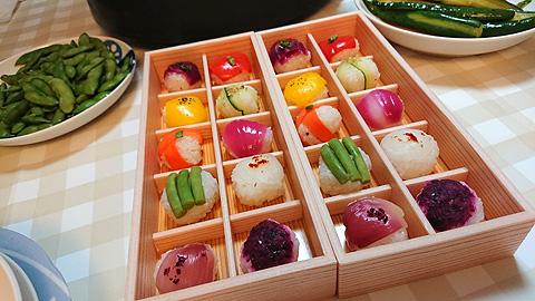 ビーガン手毬寿司
