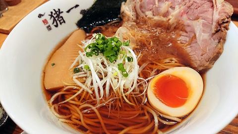 追い鯖そば(黒醤油)