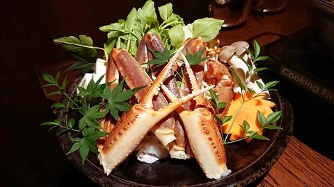 蟹の水炊き鍋