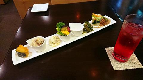 季節野菜 おばんざい&デリ6種