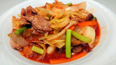 豚肉とキャベツ炒め