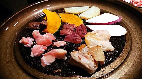 野菜と鶏肉