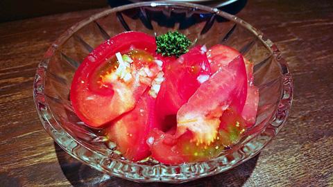 絶品トマトマリネ